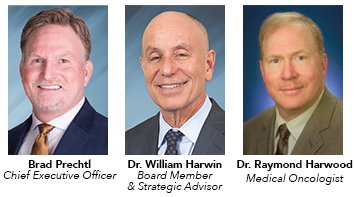 Brad Prechtl, CEO - Dr. William Harwin, Board Member & Strategic Advisor - Dr. Raymond Harwood, Medical Oncologist