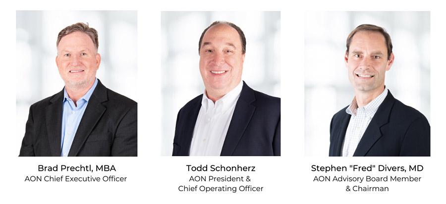 Brad Prechtl, Todd Schonerz, Dr. Stephen Divers Headshot