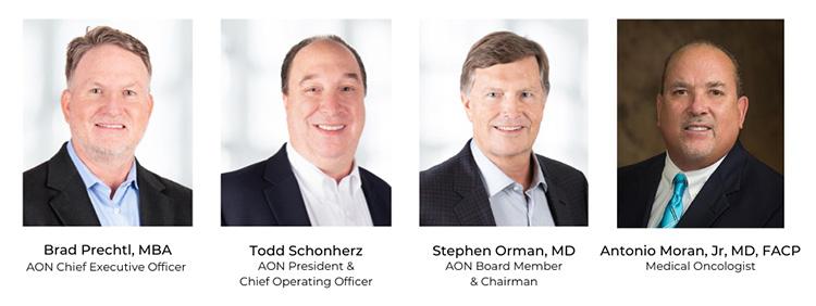 Brad Prechtl  |  Todd Schonherz  |  Stephen Orman, MD  |  Antonio Moran, JR, MD, FACP